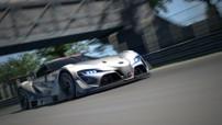 Toyota FT-1 Concept Vision GT, version de compétition virtuelle destinée au jeu vidéo Gran Turismo sur PS3 et dispo le 6 septembre 2014