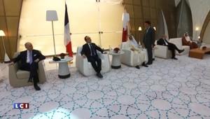 Vente de Rafale : François Hollande est arrivé au Qatar