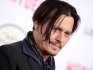 Johnny Depp à la première de Mordecai