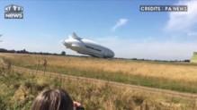 L'Airlander 10, plus gros aéronef au monde, manque son atterrissage