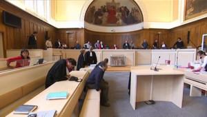 Salle d'audience d'un tribunal (archives)
