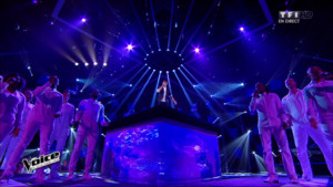 Lilian interprète en direct « Angels » (Robbie Williams)