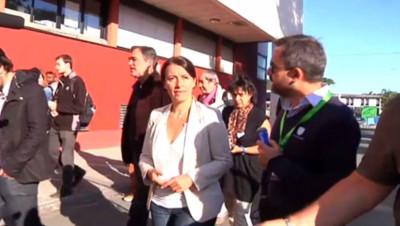 cécile duflot EELV écologistes journées parlementaires Bordeaux