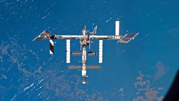 La Station spatiale internationale (ISS) en 2007