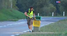 Le 20 heures du 2 septembre 2015 : Sur les pas d'un marcheur engagé - 1588