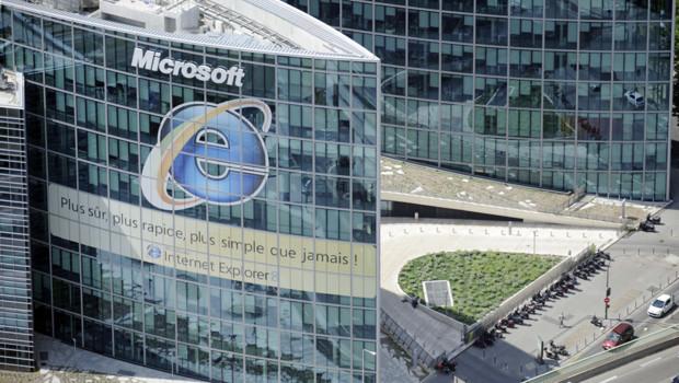 Le siège de Microsoft France, à Issy-les-Moulineaux (Hauts-de-Seine), en juillet 2010.