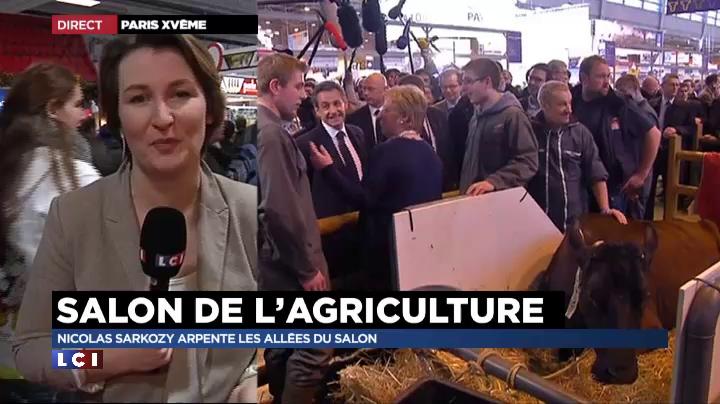 Salon de l 39 agriculture sarkozy revient sur la phrase de for Sarkozy salon agriculture