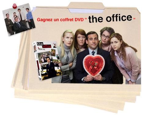 Jouez et gagnez l'un des 5 coffrets The Office, saisons 1 et 2