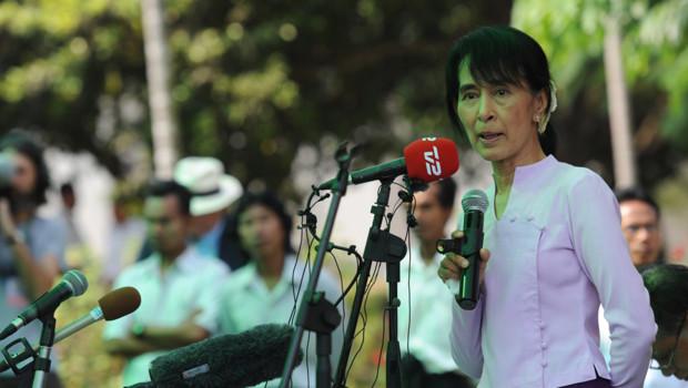 Aung San Suu Kyi, le 30/3/2012