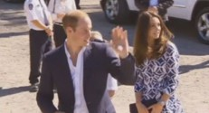 Kate et William aux Blue Mountains