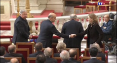 Le 13 heures du 3 juillet 2015 : Un dernier hommage rendu à Charles Pasqua lors de ses obsèques - 869