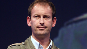 Le journaliste Gilles Jacquier, ici en octobre 2010 à Bayeux