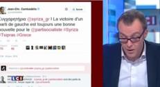 Les politiques français s'empressent de saluer la victoire de Syriza sur Twitter