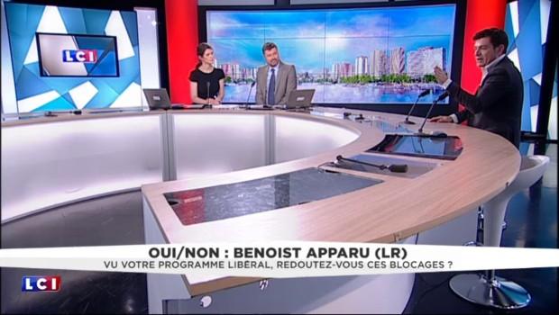 """Loi Travail : """"Un sentiment de trahison"""" chez les électeurs de Hollande, selon Apparu"""