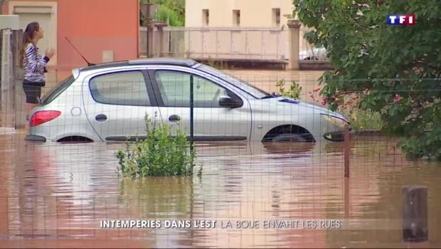 Orages et inondations : désolations dans le Doubs et l'Alsace