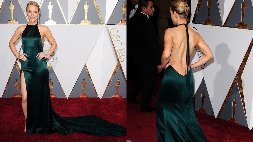 Rachel McAdams sur le tapis rouge des Oscars 2016