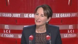 Ségolène Royal, invitée du Grand jury sur LCI et RTL
