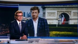 """Simon Baker sur TF1 : """"J'adore venir à Paris"""""""