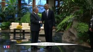 Sous la pluie ou avec Raul Castro, la visite historique de Barack Obama à Cuba