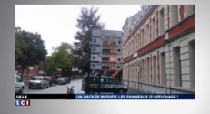 ZAPNET - Un hacker s'amuse en pleine ville à Lille