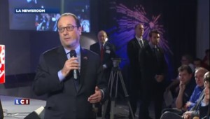 La plaisanterie d'Hollande sur la mission Rosetta