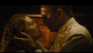Léa Seydoux et Daniel Craig dans Spectre..