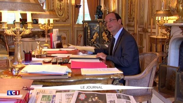 """Megacontrat avec DCNS : """"C'est toute une équipe qui s'était mobilisée"""", rappelle Hollande"""