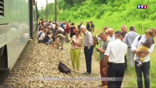 Orages en Bourgogne : trafic TGV perturbé, des retards en pagaille