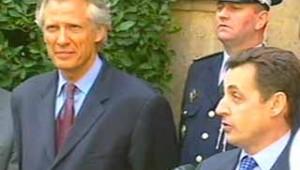 Passation pouvoir Sarkozy Villepin