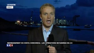Redressement du Costa Concordia : les opérations retardées de deux heures