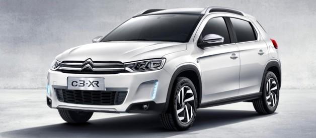 Citroën C3-XR, crossover urbain lancé en décembre 2014 en Chine, avec moteur essence 160 ch