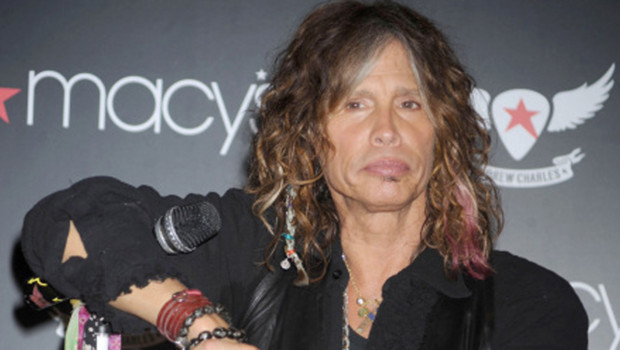 Steven Tyler, le chanteur du groupe Aerosmith (octobre 2011)