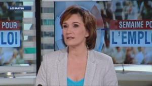 Sylvie Cenci, chef adjointe du service économique TF1.
