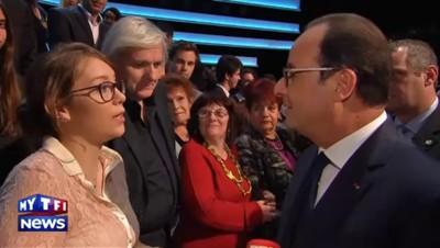 """Hollande hors antenne : """"J'essaye d'être fidèle aux 15 items"""" de """"Moi, Président"""""""