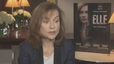 """Isabelle Huppert pour """"Elle"""""""
