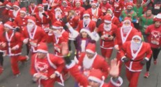 La grande corrida de Noël à Issy-les-Moulineaux, le dimanche 14 décembre.