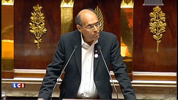 """Marzouki: """"La Tunisie n'est pas tombée dans l'escarcelle de l'islamisme"""""""