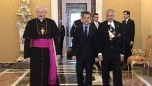 sarkozy vatican