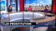 """""""Si on pénalise le client, l'Etat devient proxénète"""" estime une ancienne prostituée"""