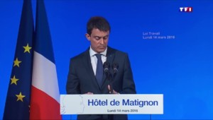 """Valls : """"Nous pouvons construire une réforme réussie, fruit d'un compromis intelligent"""""""