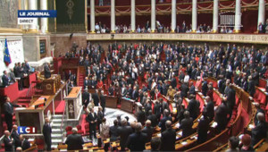 Hommage funèbre à Olivier Ferrand à l'Assemblée nationale