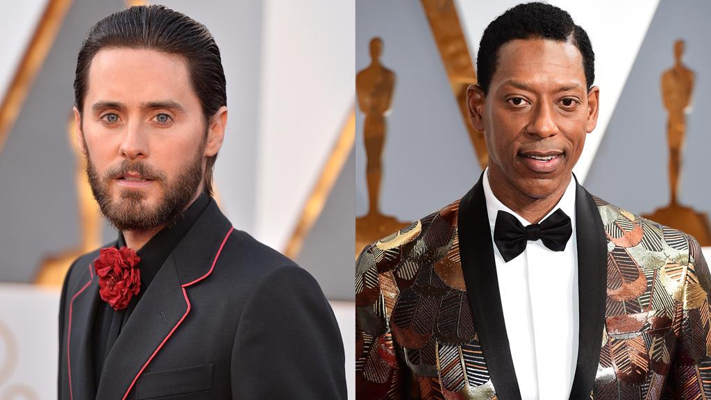 Jared Leto/Orlando Jones sur le tapis rouge des Oscars 2016