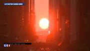 coucher du soleil manhattan