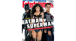 Batman v Superman en couverture d'Entertainment Weekly