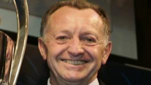 ean-Michel Aulas, président de l'Olympique lyonnais