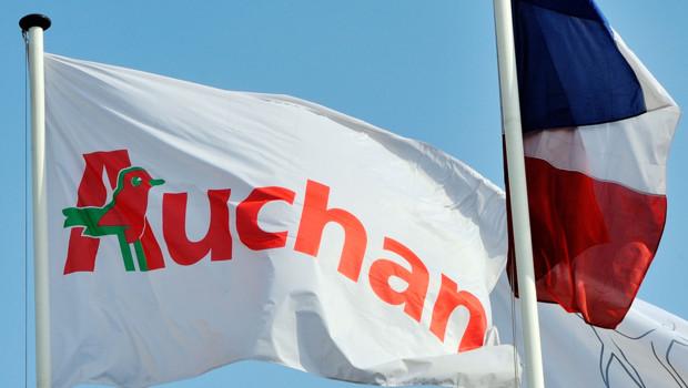 L'enseigne Auchan (archives).