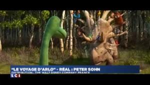 """""""Le voyage d'Arlo"""" : quand les dinosaures et hommes cohabitent, les bambins rient"""