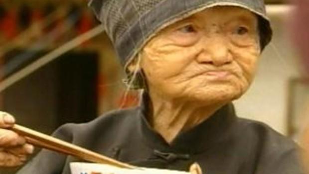 Vieille grand-mère chinoise