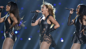 Beyoncé et les Destiny's Child lors du Superbowl 2013, le 3 février 2013.