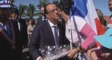hollande réunion bise